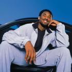 Kobe sits in what is likely one of many nice cars he owns in 2000.