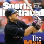 Mike Piazza appears on the cover of SI in Aug. 2000.