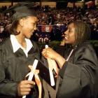 Tamika Catchings and Semeka Randall