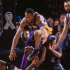 The Lakers joined the 1976 Suns (at Golden State) as the only road teams to win a Game 7 in the West finals. Kobe Bryant finished with 30 points in 52 minutes. The Kings missed 14 of 30 free throws and came up small in crunch time with the exception of Mike Bibby, who scored 14 of their last 18 points.