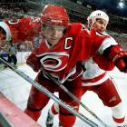 Carolina's captain, now a Hall of Famer (2007), was left feeling cornered by Red Wings defenseman Nicklas Lidstrom in Game 5 of their final series in Detroit. That night, the Red Wings skated off with the Cup and Lidstrom took home the Conn Smythe Trophy as playoff MVP.