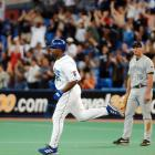 Delgado is the only man to hit a home run in his only four plate appearances in a game, doing so in the Toronto Blue Jays' 10-8 win over the Tampa Bay Devil Rays. Some call it the only perfect hitting game in MLB history.