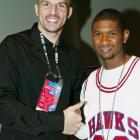 Jason Kidd hung out with Atlanta native and R&B star Usher during All-Star weekend.
