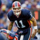Drew Bledsoe to the Buffalo Bills for a first-round draft pick in 2003. The April 2002 trade of Bledsoe, a former first-round pick himself (1993), was fueled by the success Tom Brady had in replacing the injured Bledsoe in 2002. New England won a Super Bowl that season and obviously made the right move in shifting to Brady. Bledsoe spent three seasons in Buffalo and two in Dallas, where he was replaced by Tony Romo.