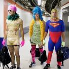 Athletes in Costume