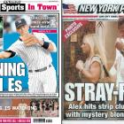 """It's a challenge for any New York athlete to stay out of the press, something A-Rod knows all too well. In 2006, he was photographed sunbathing shirtless in Central Park. A year later, he was spotted leaving a Toronto strip club with a """"mystery blonde."""" Days later, an exotic dancer was quoted in the New York Daily News about A-Rod's preference for the """"she-male, muscular type."""" A year later, Cynthia Rodriguez filed for divorce, citing """"extra marital affairs and other marital misconduct."""""""