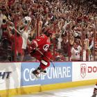 The Hurricanes' winger gave Carolina its first Stanley Cup with a series-sealing empty net goal in the final minute of its 3-1 Game 7 win over the Edmonton Oilers at RBC Center in Raleigh, NC.