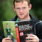 Rooney reads from his biography, Wayne Rooney: My Story So Far, at The Lowry Hotel on Aug. 10, 2006 in Manchester, England.