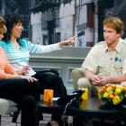 """While hosting Saturday Night Live, Peyton Manning plays an employee from the Bronx Zoo appearing on the talk show """"Bronx Beat,"""" alongside Amy Poehler and Maya Rudolph."""