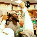 Kevin Garnett averaged 20.4 points per game and 10.5 rebounds per game during the 2008 playoffs.