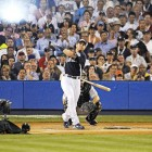 While Justin Morneau was the official winner, it was Josh Hamilton who captured the hearts of Yankee Stadium fans, breaking Bobby Abreu's mark for one round by clubbing a Derby-record 28 homers in the first round.