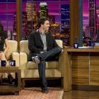 "November 6, 2008 — Filming ""The Tonight Show with Jay Leno"""