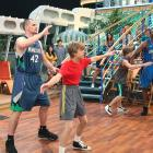 """Love and Dwight Howard guest star on """"The Suite Life on Deck,"""" which may have stifled any career in acting."""