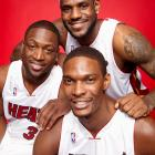 LeBron entered the 2010 offseason as the most sought-after free agent on the market. After contemplating a future in New York, New Jersey, Chicago, Miami or a return to Cleveland, James chose to take his talents to South Beach where he could play with Dwyane Wade and Chris Bosh.