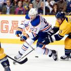 There wasn't much doubt over who the Oilers would take with their second straight No. 1 overall pick. Edmonton took Ryan Nugent-Hopkins, 18, an efficient passing center who had led the WHL with 75 assists. He was teamed with LW Taylor Hall, the No. 1 pick in 2010, to make what the Oilers expected would become a formidable young attacking duo. Since a promising rookie season, Nugent-Hopkins has not progressed though. — Notable picks: No. 2: Gabriel Landeskog, LW, Colorado Avalanche | No. 3: Jonathan Huberdeau, C, Florida Panthers | No. 43: Brandon Saad, LW, Chicago Blackhawks | No. 208: Ondrej Palat, LW, Tampa Bay Lightning