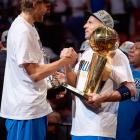 Playing alongside Dirk Nowitzki, Kidd earned his first NBA title in 2011, when the Mavericks downed the Heat in six games.