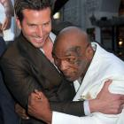 """Bradley Cooper and Mike Tyson joke around at the premiere of """"The Hangover Part II"""" held at Grauman's Chinese Theatre in Los Angeles."""