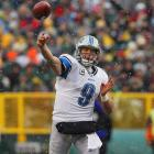 36 of 59 for 520 yards and 5 TDs in 45-41 loss to the Green Bay Packers.