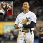 He may have been benched late in the ALCS opener, but A-Rod found something to do while sitting out of the game: Flirting with a woman in the stands near the dugout, later identified as Kyna Treacy (inset right), an Australian bikini model. According to The New York Post, A-Rod reportedly asked a ball boy to give a baseball to Treacy and her Aussie friend, Kate Quinn (inset left), with a note asking for Treacy's phone number.