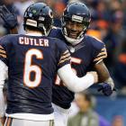 Shortly after firing their offensive coordinator and quarterbacks coach, the Bears traded two third-round picks to acquire Brandon Marshall from the Miami Dolphins. Why? To please Jay Cutler. A combo that had been wildly successful as teammates in Denver, the Bears brought in the volatile star receiver for a fairly modest price. After three prosperous seasons with Chicago, during which he scored 31 touchdowns, Marshall was sent to the Jets for a fifth-round pick.