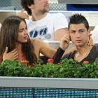 Cristiano Ronaldo and Irina Shayk attend the Mutua Madrid Open tennis tournament at La Caja Magica.