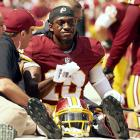 After surviving a full year with Rex Grossman at the helm, the Washington Redskins decided to make one of the largest draft-day trades in NFL history in an attempt to draft a franchise quarterback. The Redskins acquired the second overall pick in the 2012 draft, with the intention of picking Robert Griffin III, from the St. Louis Rams for three first round picks and a second round selection. Griffin would go on to win Rookie of the Year in 2012 and lead the Redskins to the playoffs, but his season would end with a torn ACL in the divisional game against the Seahawks. RGIII has struggled with both his play and injuries ever since.