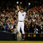 Derek Jeter capped his Yankee Stadium farewell with a game-winning single in the bottom of the ninth inning to give New York a 6-5 victory over the Baltimore Orioles.  The win secured the Yankees their 22nd consecutive winning season -- 20 of which included Jeter.