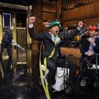 """September 10, 2014 — Filming """"The Tonight Show Starring Jimmy Fallon"""""""