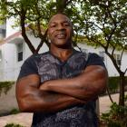 Mike Tyson spent time in Miami with his son to watch the NBA Finals as he begins his new career as a fight promoter.