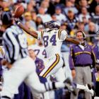 The questions about Moss' attitude and work ethic followed him everywhere, but there's no denying what a nightmare he was for opposing defenses. His Credentials: Six-time Pro Bowl selection, five-time All-Pro, No. 2 all-time in receiving touchdowns (156), No. 9 all-time in receptions (982), 1998 Rookie of the Year, 2007 Comeback Player of the Year, voted to NFL's All-Decade Team for the 2000s. Others in Consideration: Vince Wilfork (2004, Patriots); Jerry Robinson (1979, Eagles); Lynn Swann (1974, Steelers)