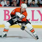 He may have been drafted as left wing, but he made his mark as one of the top two-way defensemen of the 1980s. Howe was revered not only for his vision and accuracy, but also for his ability to make hard, crisp passes. A three-time runner-up for the Norris Trophy, he was inducted into the Hall of Fame in 2011. — Honorable mentions: Cam Ward (Hurricanes, 2002); Brenden Morrow (Stars, 1997)