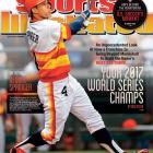 June 30, 2014  |  This week's Sports Illustrated cover features Houston Astros rookie right fielder George Springer, who is trying to help the team climb out of baseball's cellar. Springer, who has 14 home runs and 39 RBI in only 59 games this season, along with major league hits leader Jose Altuve, still have some work to do as Houston sits at 33-45, good for last place in the American League West as of June 25. Check out the Sports Illustrated print edition this week (subscribe here) for SI.com writer Ben Reiter's piece on how scouting and modern-day metrics are potentially building the Astros toward championship contention in the future.