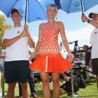 Sharapova launched her new brand 'Sugarpova' in Melbourne, Australia, in January.