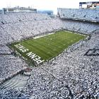 Notre Dame at Penn State, Sept. 8, 2007 | Penn State declared a stadium-wide 'White Out' or 'White House' as 110,078 attended the September 2007 game, the second largest attendance in Beaver Stadium history. The Nittany Lions defeated the Notre Dame Fighting Irish 31-10.