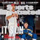 October 6, 2014 | The St. Louis Cardinals and St. Louis Blues, led by Adam Wainwright and T. J Oshie, look to get past last year's disappointing playoff exits.