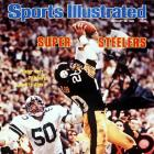 Rocky Bleier found himself on the cover of Sports Illustrated after making this leaping catch. The grab was the Steelers fullback's only reception of the day but went for a seven-yard touchdown that gave the Steelers a 21-14 lead heading into halftime. Pittsburgh won 35-31.