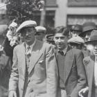 French cyclist Andre Leducq (left) won the Tour de France in 1932.