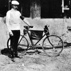 French racing cyclist Maurice Garin, winner of the first Tour de France in 1903.