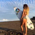 Growing up between the beautiful beaches of the North shore of Oahu and southern California, Anastasia Ashley was naturally drawn to the ocean. As an amateur, Ashley has won over 200 events, including the NSSA National championships. In her pro career, she's been nearly as successful, taking the ASP Triple Crown Rookie of the Year in 2005. Since then, she's won the 2008 APSPR Corona Pro Tour, the 2010 Women's Pipeline Pro and in 2013 she was a Billabong XXL Big Wave aware nominee for overall performance. For a look inside the life of a model/surfer, follow Anastasia on Instagram @anastasiaashley.