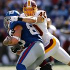 The former first-round pick played five good seasons in St. Louis, even racking up 116 total tackles in 2002. In 2006, the Redskins made Archuleta the highest-paid safety in the league, gifting him with a six-year, $30 million contract. But Archuleta failed to live up to expectations in Washington and only started seven games. After one year, Washington traded Archuleta to Chicago, where the safety played one year before retiring.