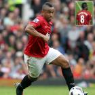 """Manchester United's midfielder Anderson took the field with the name """"ANDESRON"""" displayed across the back of his uniform during a defeat to Everton on Aug. 20, 2012."""