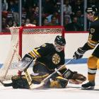 A veteran of three Cups in Edmonton, the disgruntled Moog was dealt to Boston on March 8, 1988, pairing with Reggie Lemelin to send the Bruins to the finals. The deal also benefited the Oilers, who received goalie Bill Ranford, the starter on their 1989-90 team that beat Moog's B's in the Cup finals.
