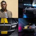 Pittsburgh Steelers receiver Antonio Brown showed up to the start of 2015 training camp in a custom, Steelers-themed Rolls-Royce Phantom, a car that costs around $500,000. Brown's Phantom features a yellow stripe down the center and even his signature blown up preposterously large on the side.