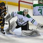 """Someone forgot the Finnish setting on spell check when making Stars goalie Antti Niemi's road jersey for a game in Buffalo on Nov. 17, 2015. The 32-year-old goalie came out for warmups with a No. 31 sweater that read """"Nieme."""" The equipment crew either worked fast or had a correctly-spelled uniform readily available, because once the game started Niemi's name was right. The starting goaltender was able to avoid more embarrassment."""