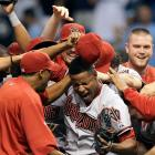 Jackson overcame a wild start, leading the Diamondbacks to a 1-0 victory over the Rays. Jackson threw 149 pitches and walked eight, all but one in the first three innings, in the second no-hitter in D-backs' history.