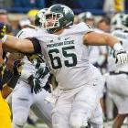 In his sophomore season, Allen was named second-team All-Big Ten and started at both left guard and center. He'll face bigger expectations in 2016 now that standout linemen Jack Allen and Jack Conklin are off to the NFL.