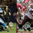The former Saints and Buccaneers offensive guard was forced to retire after suffering from a chronic toe injury and contracting a MRSA infection in the Tampa Bay locker room in 2013. Nicks signed a five-year $47.5 million contract with $31 million guaranteed in 2012, but only played nine games over two seasons with the Bucs. Nicks was one of three Tampa Bay players diagnosed with MRSA during the 2013 season. He made two Pro Bowls with the Saints and was named to the All-Pro First Team in 2011.