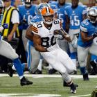 The Grand Valley State product has been a training camp standout and could emerge as a starter in Cleveland. The Browns will be desperate for a play-making WR once Josh Gordon starts serving his suspension.