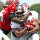 The rookie from West Virginia is expected to be an immediate handcuff to Doug Martin for fantasy purposes. Smith should contribute in passing situations early, but could steal carries from Martin as the season progresses.