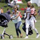 Matt Forte with his wife Danielle and daughter Nahla.